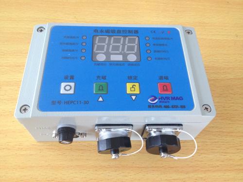 控制器的输出线连接到电永磁吸盘